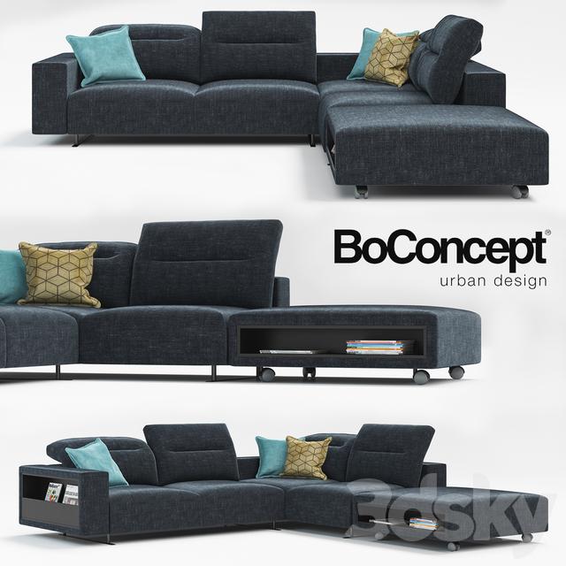 3d Models Sofa Sofa Hampton Boconcept