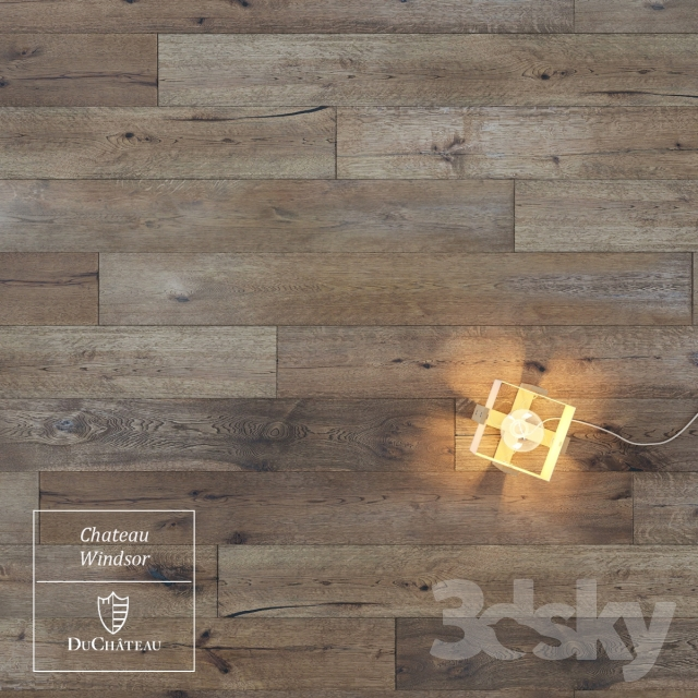 3d Models Wood Windsor Chateau Wooden Floor By Duchateau