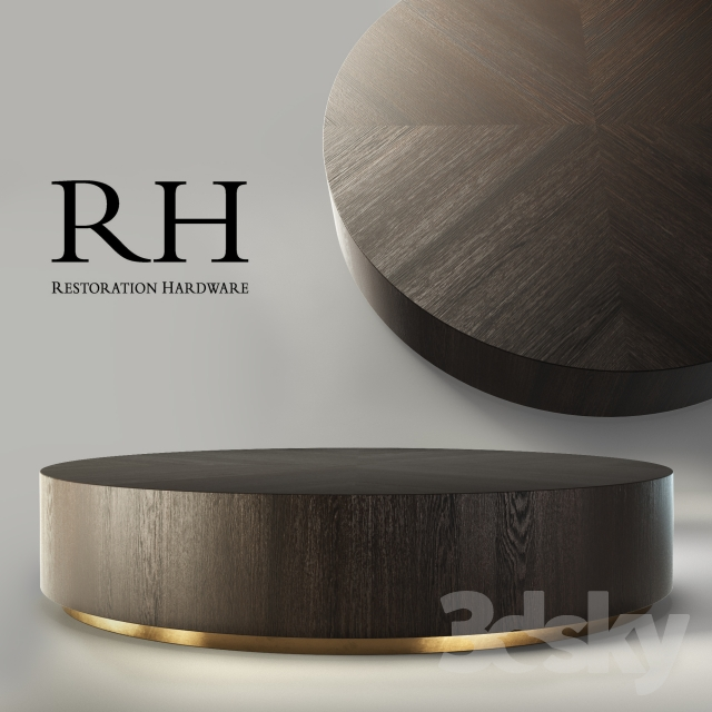 RH Machinto Round Coffee Table