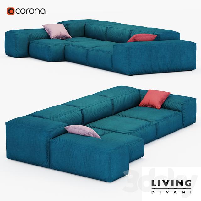 3d Models Sofa Sofa Extrasoft Living Divani