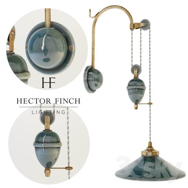 Hector Finch FRENCH CERAMIC WALL LIGHT RISE AND FALL WL119  sc 1 st  3DSky & 3d models: Wall light - Hector Finch FRENCH CERAMIC WALL LIGHT ...