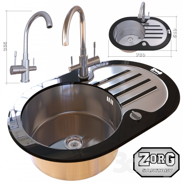 kitchen sink and faucet zorg - Kitchen Sink Models