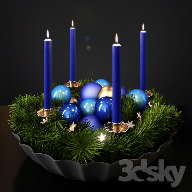 New Year & Christmas 3d model