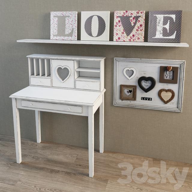 Table Children&;s desk Valentine Maisons du monde and decor