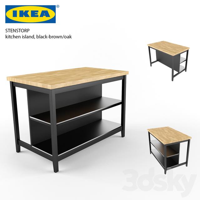 IKEA Stenstorp Kitchen İsland