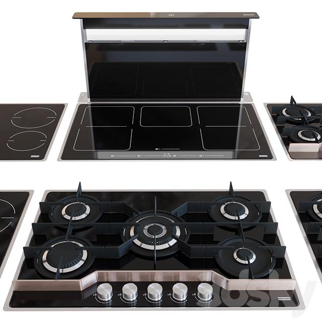 Kitchen Appliances Set: 3d Models: Kitchen Appliance