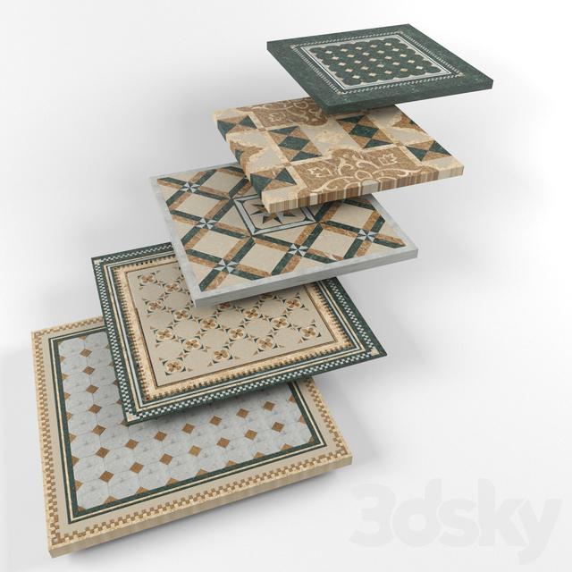 5 classic floor tile
