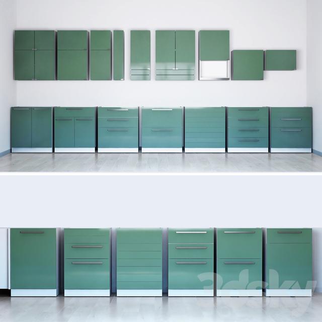 3d models: Kitchen - IKEA Kitchen Kallarp
