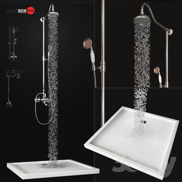 Bath mixer Saine 8053055