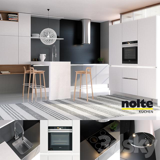 3d models kitchen kitchen nolte glas tec satin sigma lack vray ggx corona pbr. Black Bedroom Furniture Sets. Home Design Ideas
