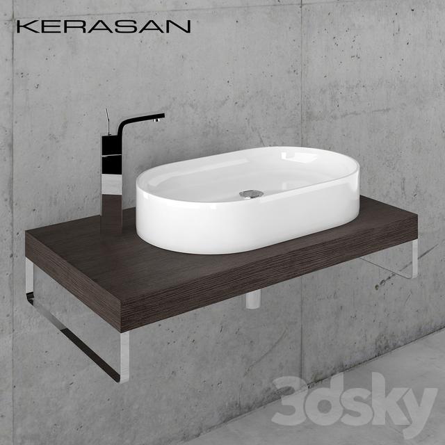 Sink Kerasan Ciotola with worktop