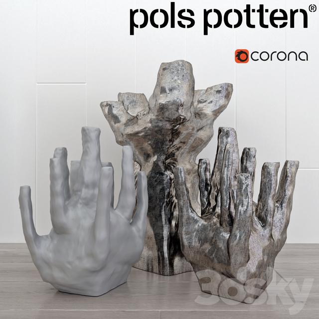 Set vases Pols Potten