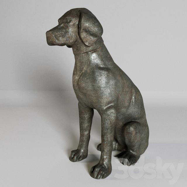 """Sculpture """"Labrador"""""""