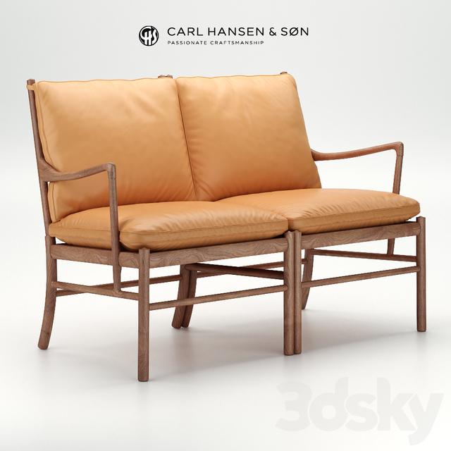 Colonial sofa by Carl Hansen