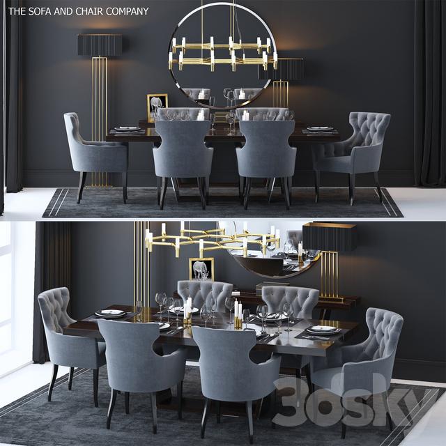 The Sofa & Chair Company Set 2