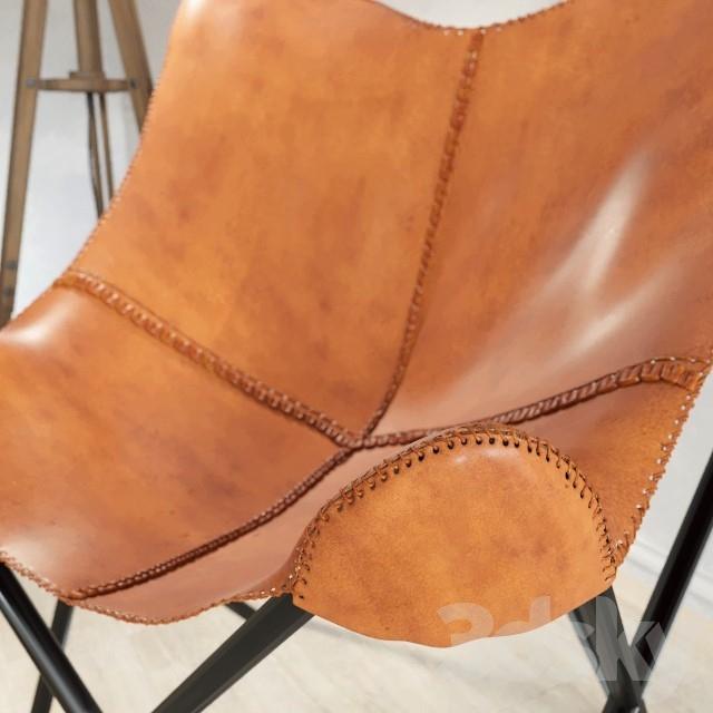 3d models other lampadaire matelot armchair santiago. Black Bedroom Furniture Sets. Home Design Ideas