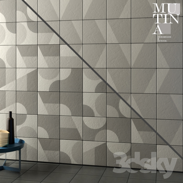 Tile Puzzle by Mutina - set 04