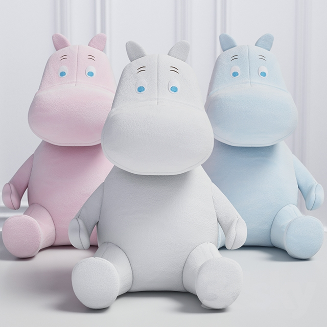Moomintroll and Snork two