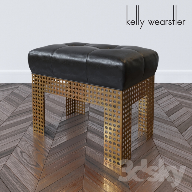Precision bench by Kelly Wearstler
