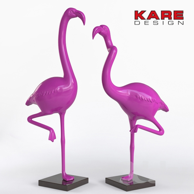KARE Deco Figurine Flamingo