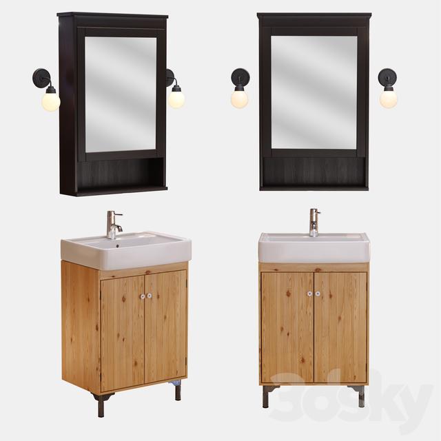 The Ikea Sink Hemnviken Hemnes Mirror Cabinet Silveron