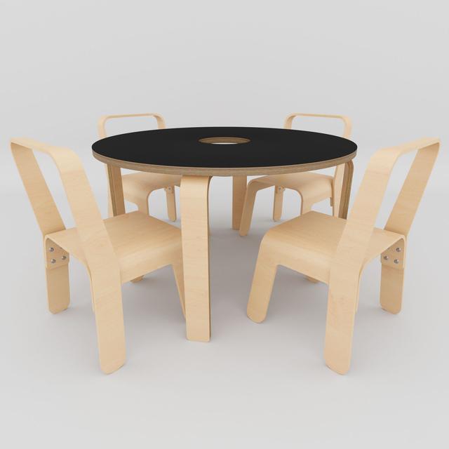Children's desk Look Me Baby Table