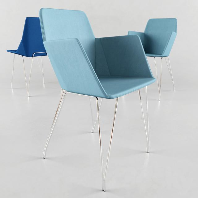3d models chair elsa. Black Bedroom Furniture Sets. Home Design Ideas
