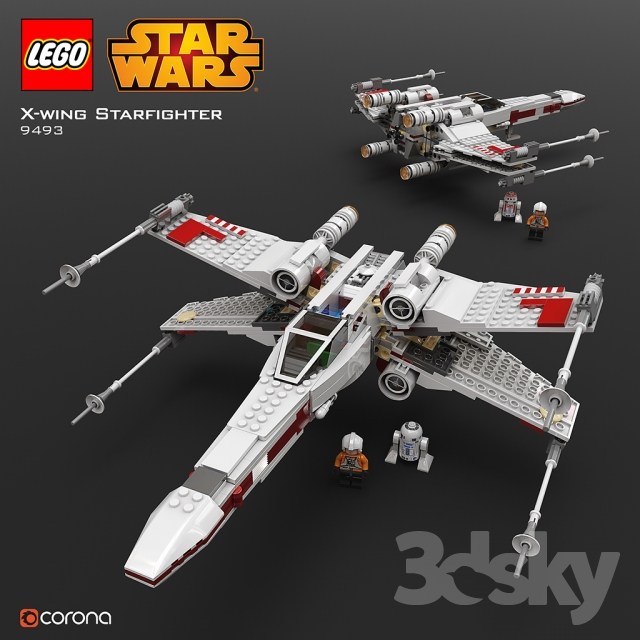 LEGO SW X - Wing Starfighter