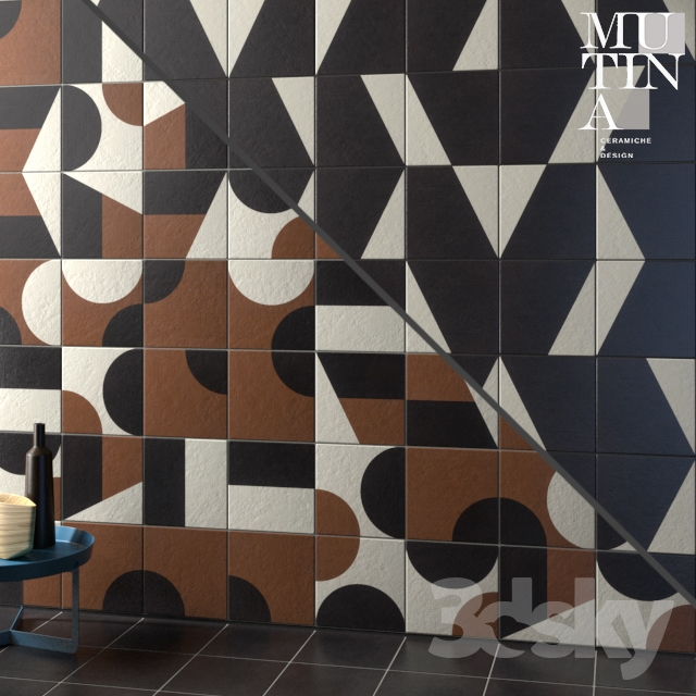Tile Puzzle by Mutina - set 07