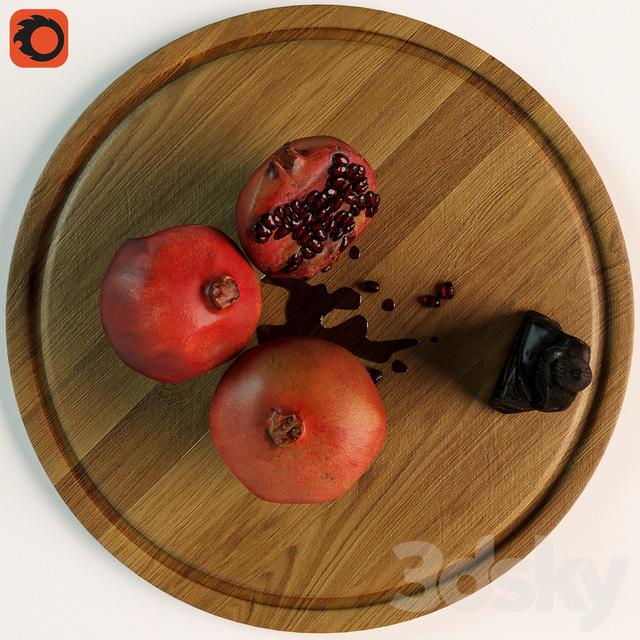 Pomegranate Buddha