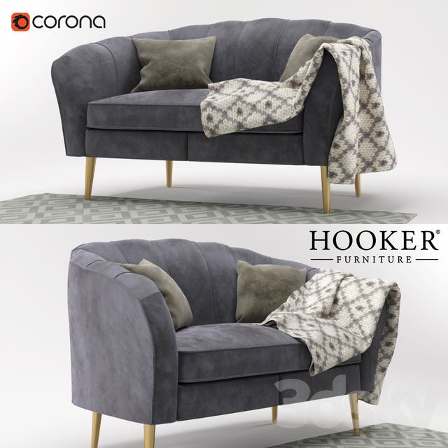 Cynthia Rowley For Furniture Living Room Gigi Settee