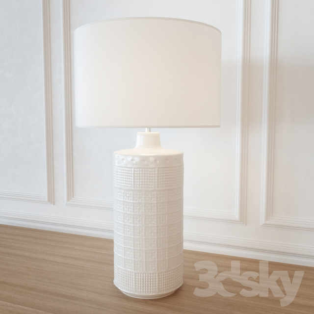 3d models table lamp table lamp potterybarn jamie young emma table lamp potterybarn jamie young emma ceramic column table lamp mozeypictures Image collections