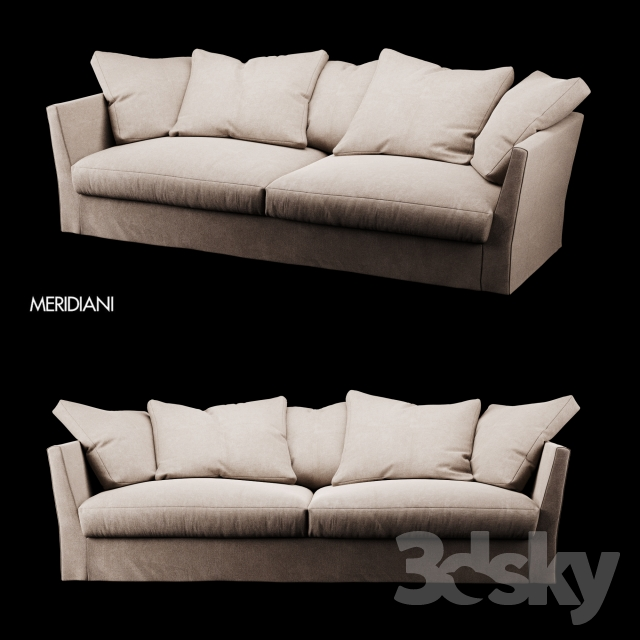 Meridiani Queen sofa