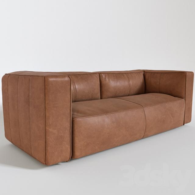 3d Models Sofa Lenyx Leather Sofa