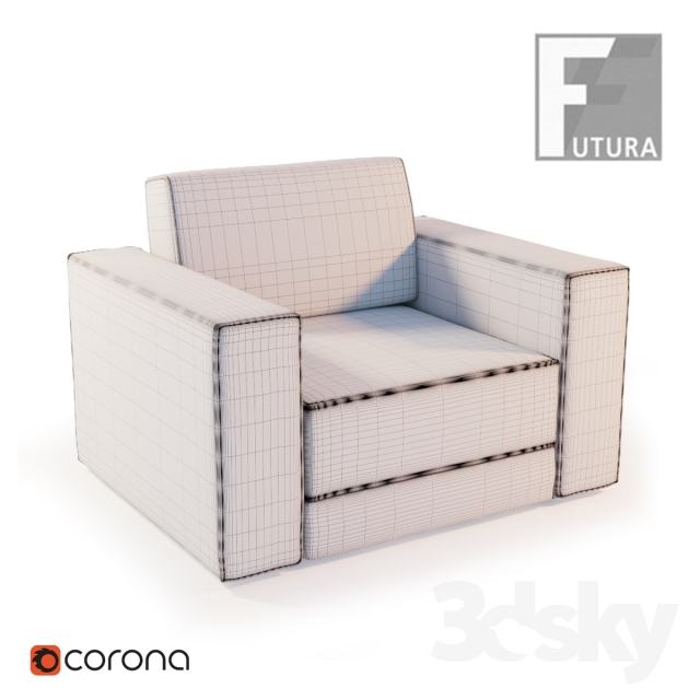 3d Models Arm Chair Futura Tratto Corona Furniture Company San Diego Ca  Corona Furniture Company   San Diego Ca 92113