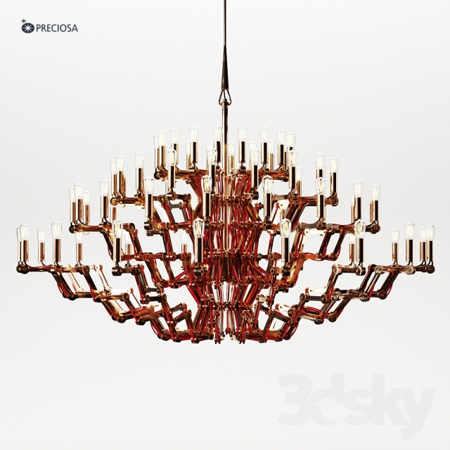 3d models ceiling light mercury chandelier by preciosa mercury chandelier by preciosa aloadofball Images