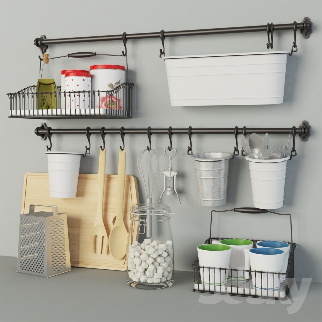 3d Models: Other Kitchen Accessories