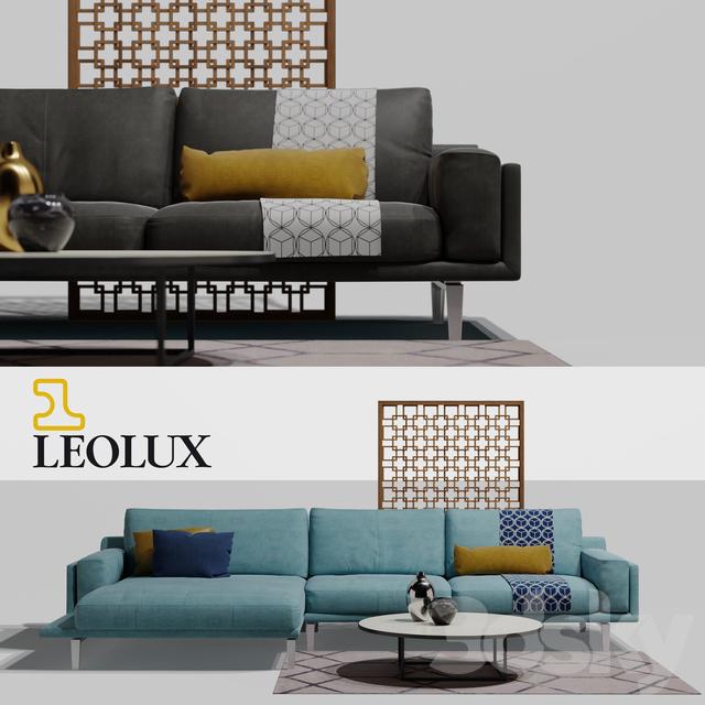 3d models sofa leolux bellice. Black Bedroom Furniture Sets. Home Design Ideas