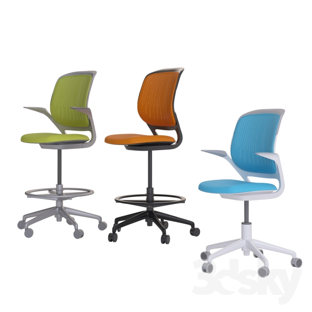 3d models office furniture steelcase cobi office chair