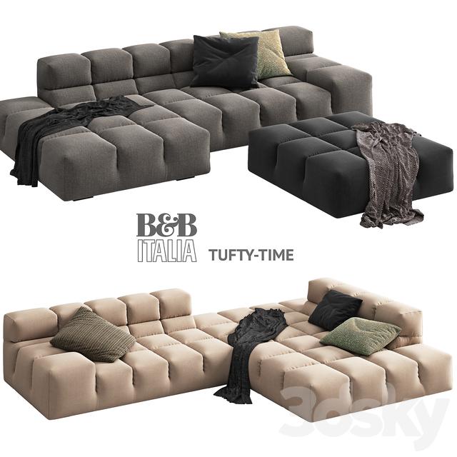 Nice Bu0026B Italia TUFTY TIME 2 Sofa