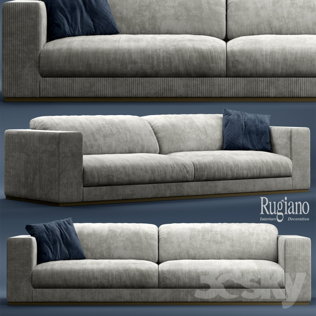 3d models Sofa Sofa Rugiano VOGUE sofa
