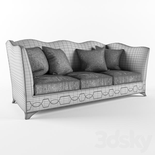 3d Models: Sofa   LuxDeco Eaton Sofa