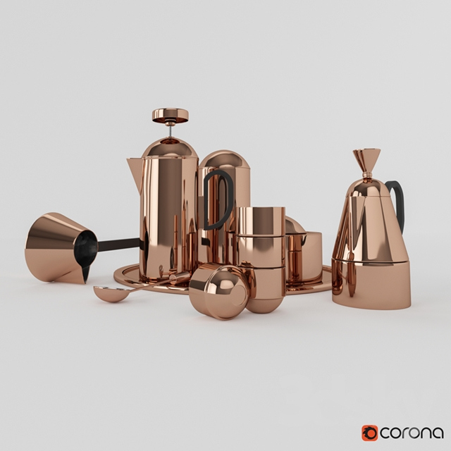 Tom Dixon Copper Coffee Set