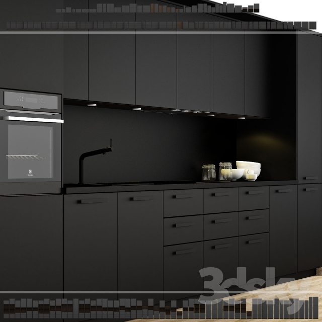 3d models kitchen ikea kitchen kungsbacka method for Cuisine ikea method