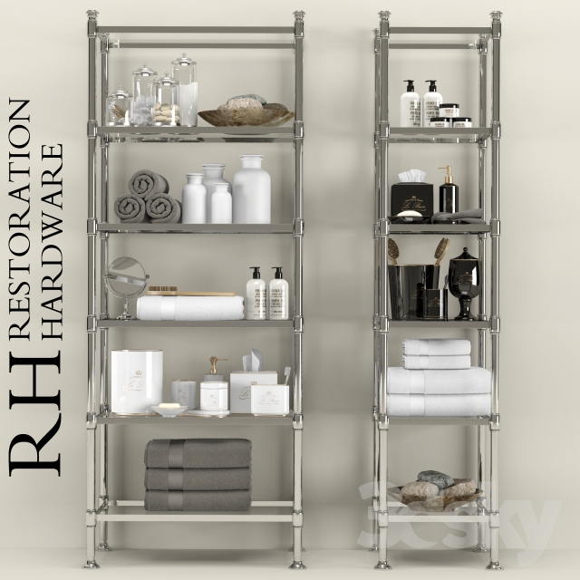 3d models bathroom accessories restoration hardware for 3d bathroom accessories