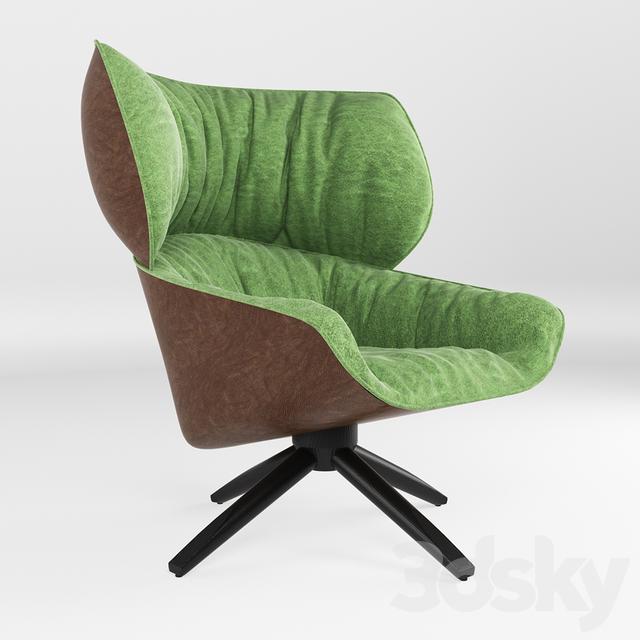 3d Models Arm Chair Armchair Tabano B Amp B Italia