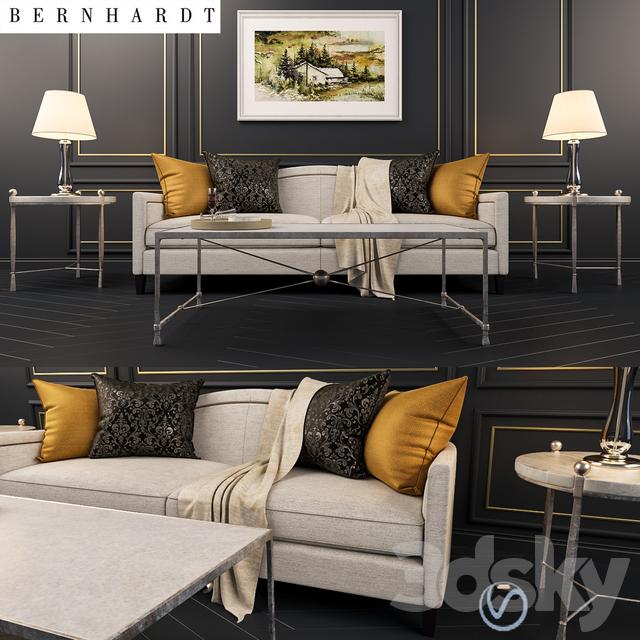 3d Models Sofa Bernhardt Strickland Sofa