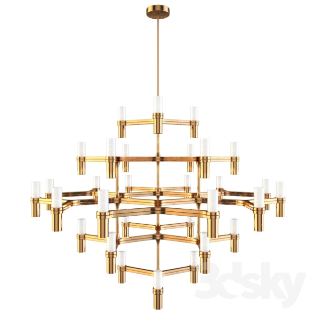 3d Models Ceiling Light Nemo Crown Major