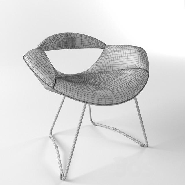 3d Models Arm Chair Chair Rumi