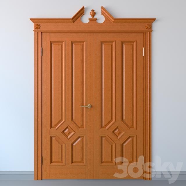 Двойные дверные блоки